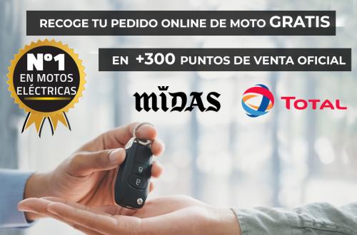 Recoge Tu Pedido Online De Moto Gratis en +300 puntos de venta Oficial