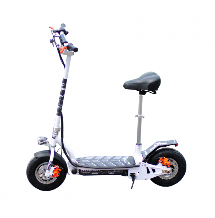 CityStreet 1500W/48V/9aH/Litio Blanco Gran-Scooter