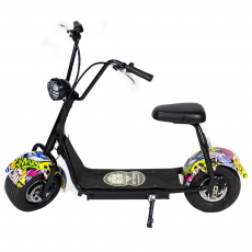 CityCoco MINI 800W/48V/12aH/Litio Hip-Hop Gran-Scooter