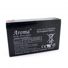 6V / 7Ah Replacement Battery