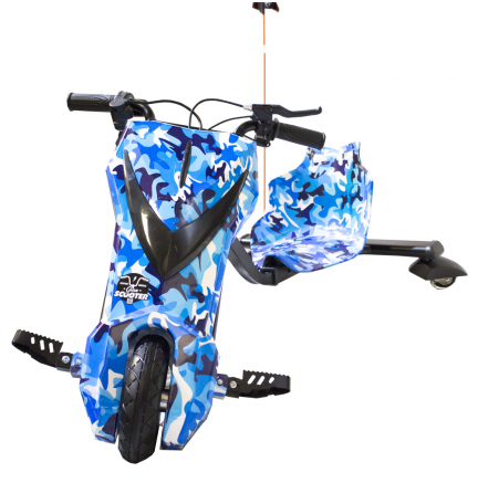 Boogie Drift Pro Bluetooth 15km / h 3 Speed Scooter + Camouflage Wrench