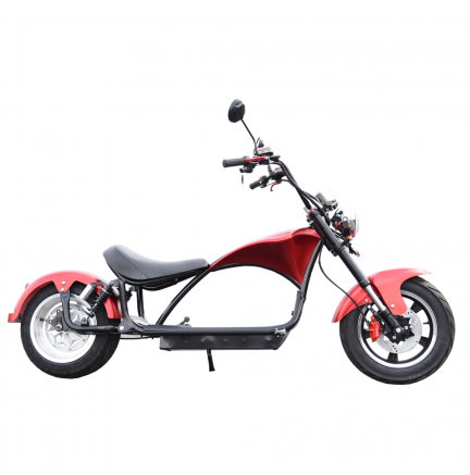 CityCoco E-Chopper Matriculable 2000W / 24AH Rojo