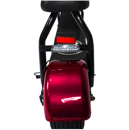 CityCoco MINI 1000W/48V/12aH/Litio Rojo Gran-Scooter