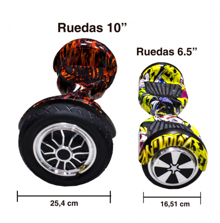 "Hoverboard Speedo 10"" Party Bluetooth+Bolsa Transporte Patín Eléctrico"