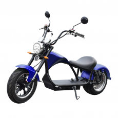 CityCoco E-Chopper Matriculable 2000W/24AH Azul