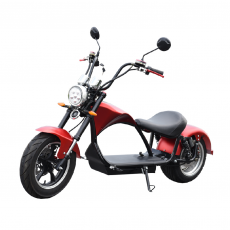 CityCoco E-Chopper Matriculable 2000W/24AH Rojo