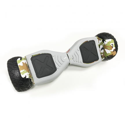 "Protector Universal Silicona Hoverboard Hummer 8.5"" Gris"