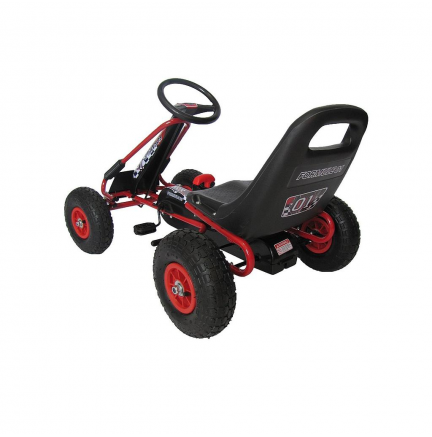 Kart Pedales Thunder Red Edition