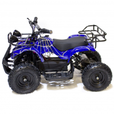Quad Eléctrico Truemove Plus 800W/36V/12Ah Spiderman Azul